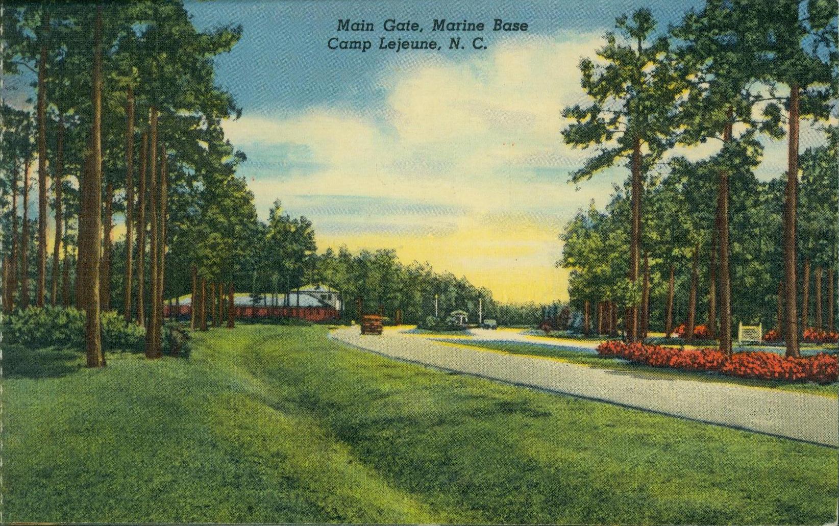 usmc postcards