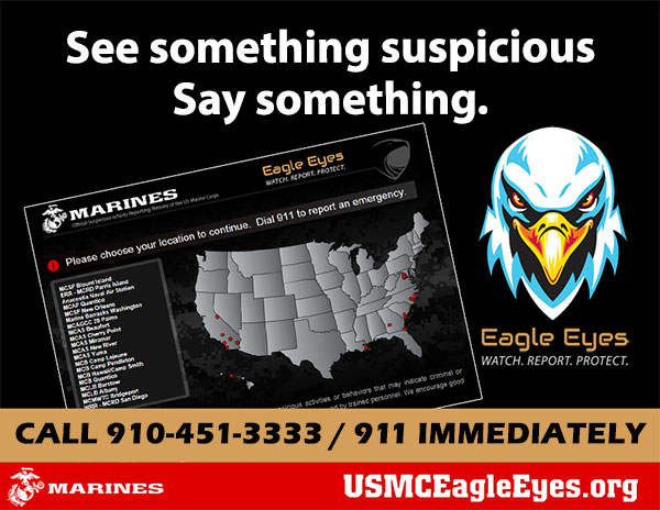 See Something Suspicious? Call 451-3333.