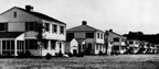 Married Officers' Quarters, Camp Lejeune, North Carolina. Circa 1945