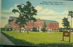 Historic postcard featuring the Hostess House, Hadnot Point at Marine Corps Base Camp Lejeune (US Marine Corps Archives)