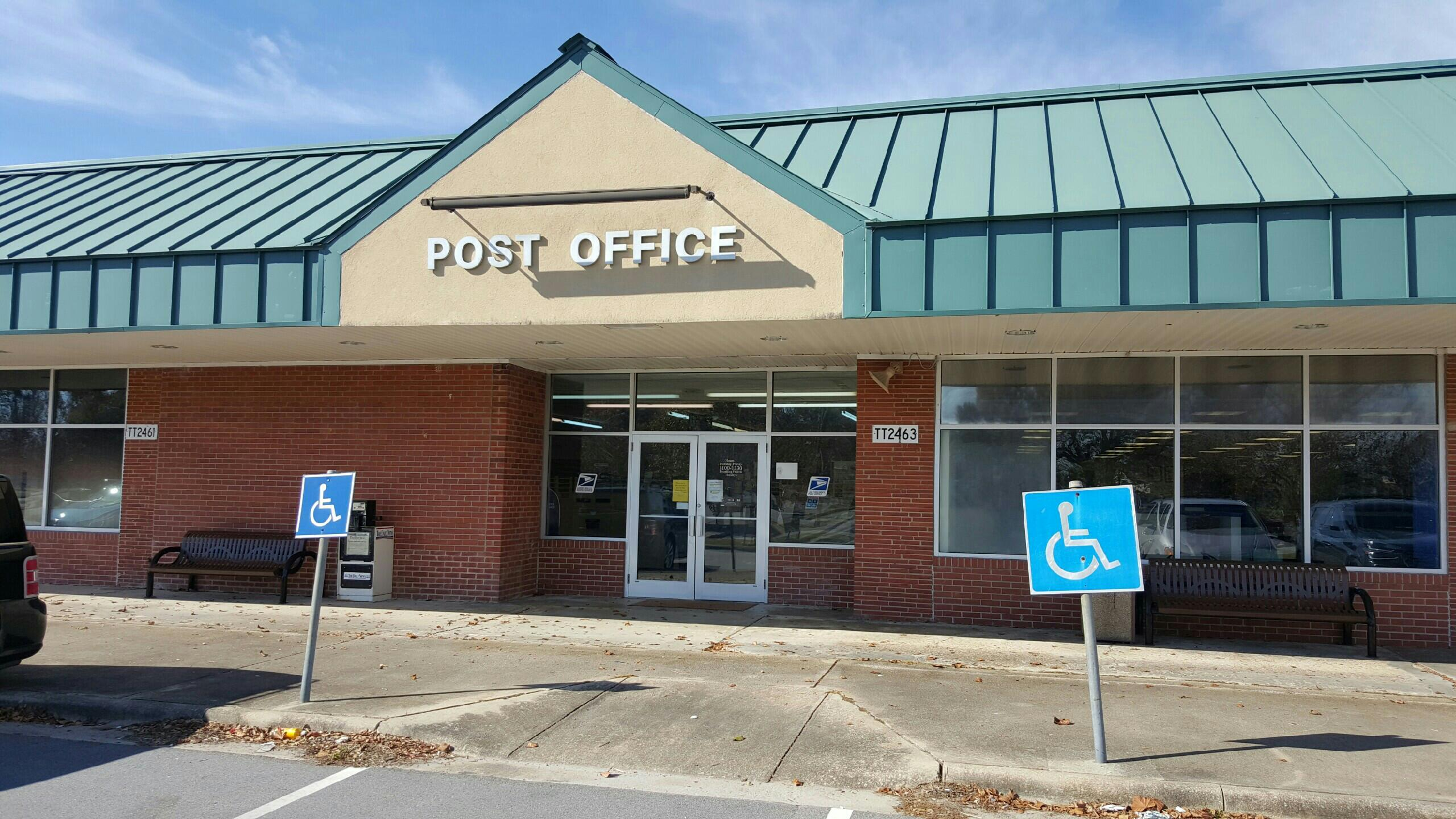 Tarawa Terrace Post Office 2463 Iwo Jima Blvd 910 353 1874 Mon Fri 1100 1330